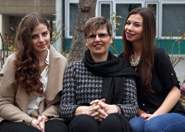 Hanna Philipp, Isolde Thoma, Ann-Kathrin Blaß (v.l.)